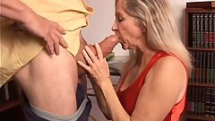 Beautiful mature blondie has a very sexy body and is a super-steamy shag