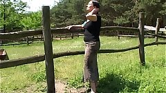 Tall Mature Lady Gets Banged By A Farm Fellow