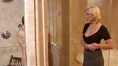 Rich Penthouse Milf picks up torn homeless guy seduces and fucks his lights out