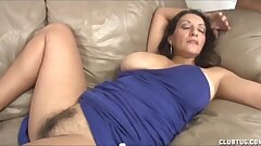 Busty Cougar Handjob And Pussy Groping