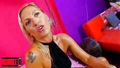 Hot spanish milf interview and fucked firm on vid