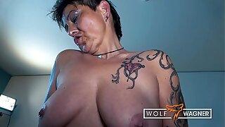 Vigorous German MILF banged in public by sports college girl ▁▃▅▆ WOLF WAGNER LOVE ▆▅▃▁ wolfwagner.love