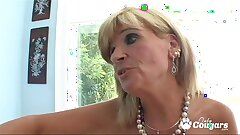 Mature Aged Bitty Glides Her Fingers Inside A Sweet Young Twat
