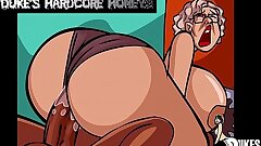 Immense Ass Granny Fucked by Big Black Cock!