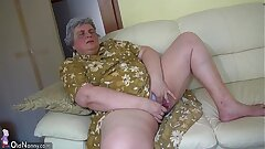 OldNanny Pretty female and fat grannie wanking together