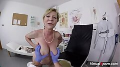wooly granny point of view fucked by her doctor