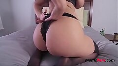 Hot MILF Mother Satisfying Her Giving Son