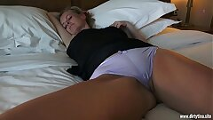 Horny fuck with sleeping Mummy