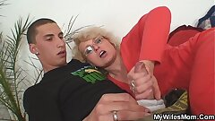 Wife finds him poking mom in law and gets insane