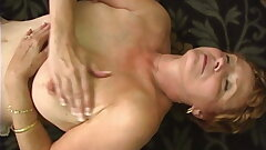 Interracial Gangbang with a Naughty Granny Part 4