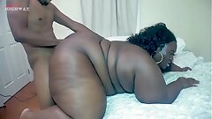 giant booty chocolate Chrissy Santana taking Big black boner on BBWHighway.com