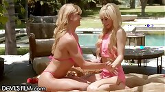 DevilsFilm Kenzie Reeves Sunny Sex Lesson with Lez MILF