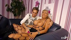 AMATEUR European - Sexy German MILF Lana Vegas plumbs hard in raunchy fucky-fucky tape