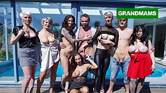 Slutty Grannies Found Toy Boys to Play with