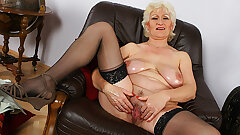 Huge-chested mom's first-ever porno video