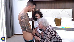 Finest elderly and young threesome of 2021